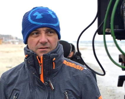 Viorel Sergovici at outdoor film set discusses Romanian incentives