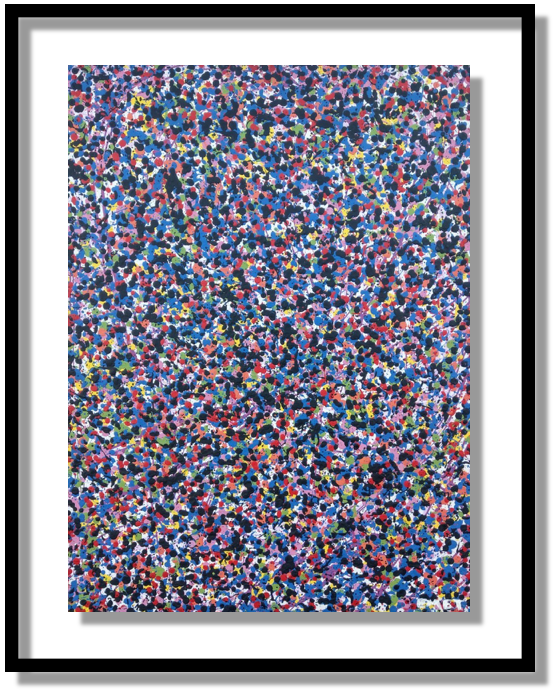GUMBALLS is a painting by artist Emet