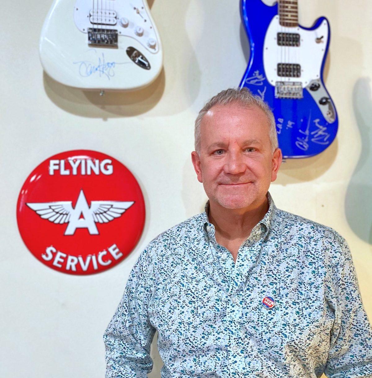 Pat Amsbry Flying A guitars