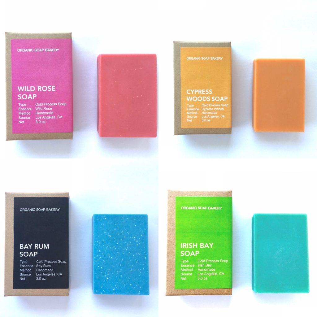 Organic Soap Bakery variety of soap