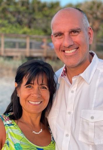 Todd Warda and wife