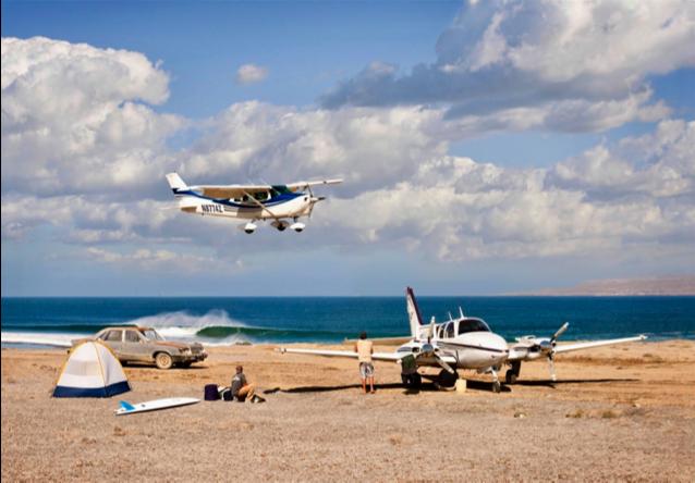Baja airstrip